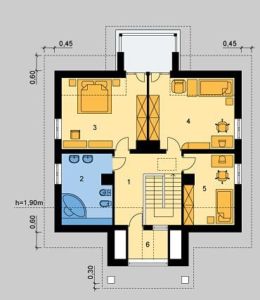 Case demisol, parter si mansarda-NEOACTIV - Home Proiecte de casa