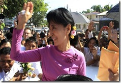 Suu Kyi entering political process