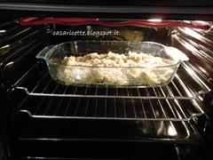cdr in forno finocchi nella teglia con granella di mandorle