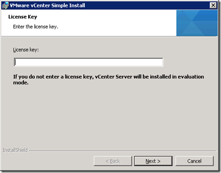 21_vCenter Server License Key