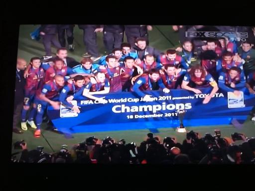 Barcelona Campeón del Mundo!!