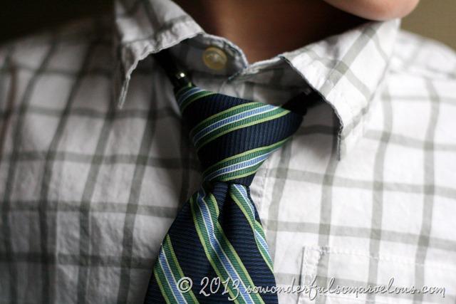 chaps boys tie
