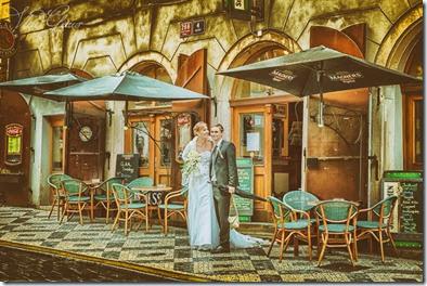 Фотографии со свадьбы в Праге и замке Брандис