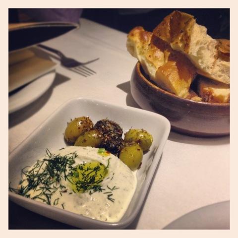 #272 - Tas olives and Ispanakli yoghurt