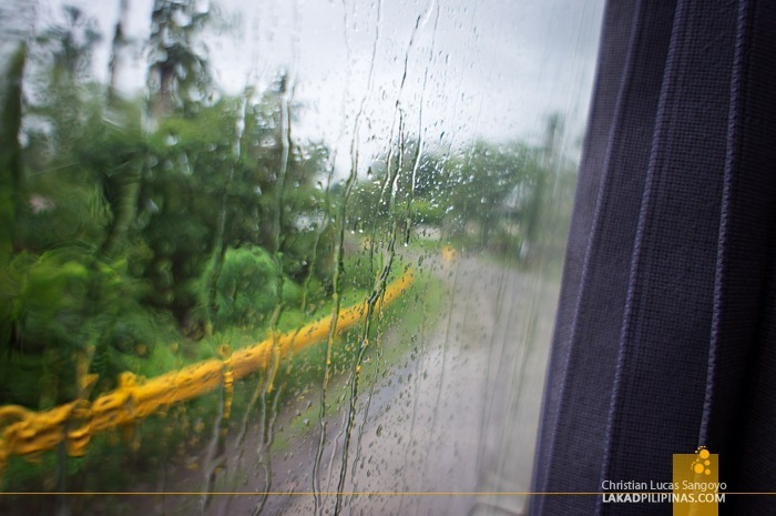 Wet Weather En Route to Iloilo