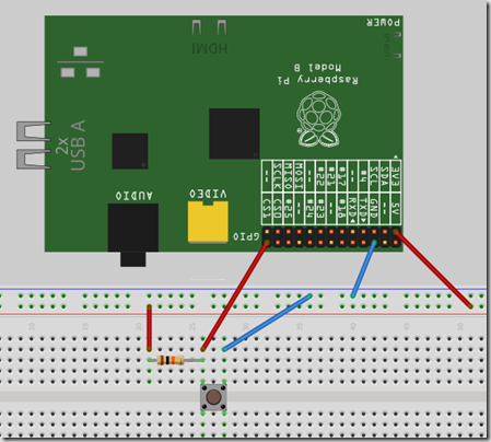 Raspberry Pi simple Circuit