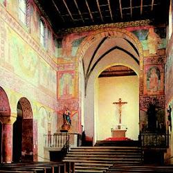 03 - Iglesia de San Jorge de Orbezell en Reichenau (Interior)