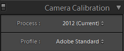 All RAW images were converted using the 2012 process and Adobe Standard profile