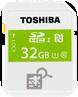 Toshiban 32GB SDHC-muistikortti NFC:llä