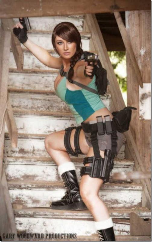 Os melhores cosplays de Lara Croft 19