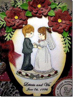 Anniversary Easel Cake Card4