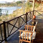 Ruaha River Lodge, Terrasse des Chalets © Foto: Ulrike Pârvu | Outback Africa Erlebnisreisen