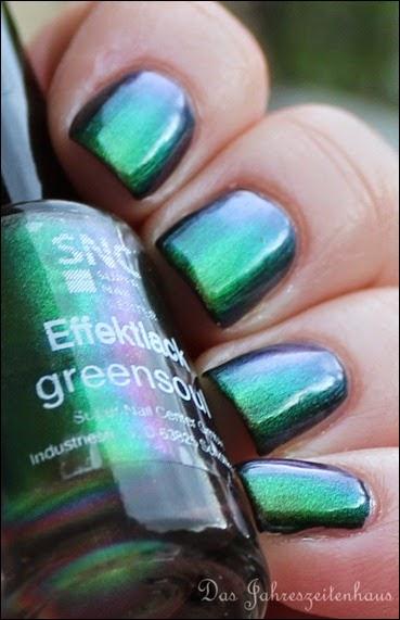 SNC Super Nail Center Effektlack Greensoul 2