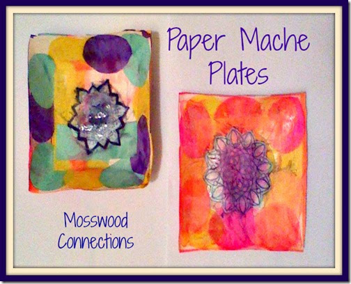 Crafts for Kids - Paper Mache Plates