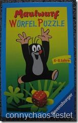 Maulwurf Würfel-Puzzle