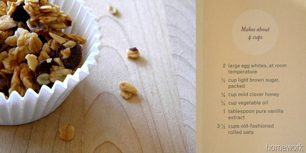 Blog Vanilla Granola