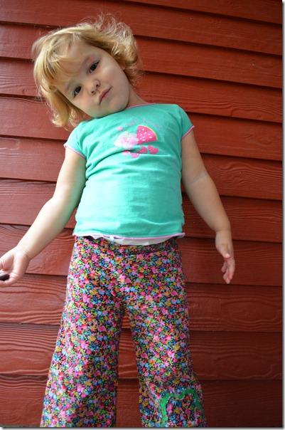 Lu's Flower Pants 010