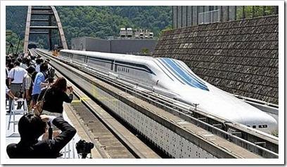Novo trem japonês de levitação magnética percorrerá Tóquio até Nagoya em 40 minutos