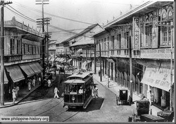 Manila Tranvia in the 1900s phillippines
