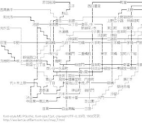 [AA]路線図
