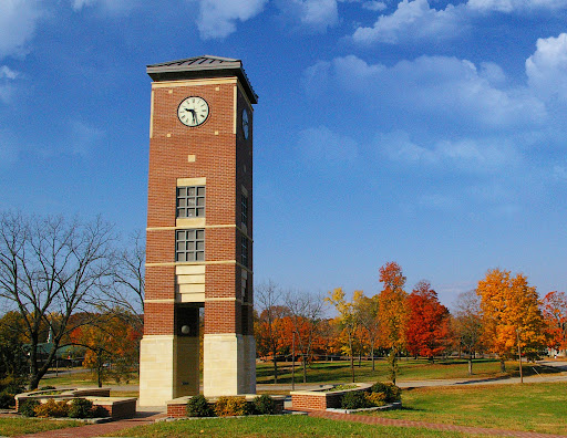 This is the bell tower located on the campus of Missouri State University-West Plains. (Photo used with permission)