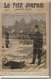 Le duel entre Deroulede et Clemenceau en 1893