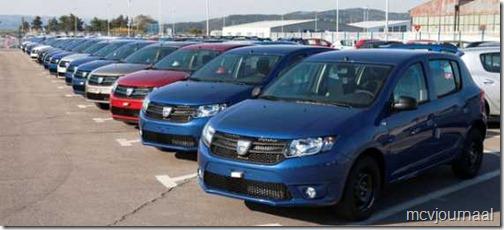 Dacia Sandero 2013 op de lopende band 02