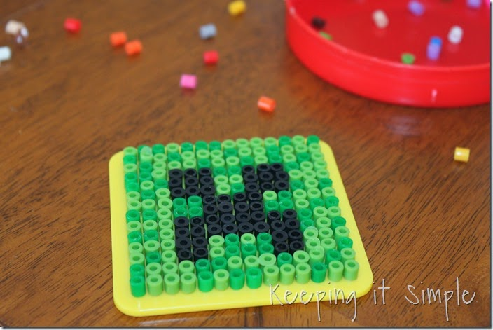 Minecraft-melty-beads #kidscraft #minecraft (1)