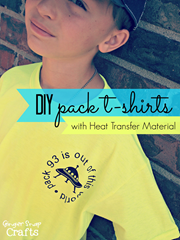 DIY Pack T-shirts with Heat Transfer Material from #Silhouette #DIY #CubScouts #tutorial_thumb[2]