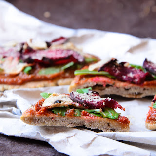 Vegan & gluten free Buckwheat Pizza Crust