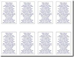 Baptism Prayer Card