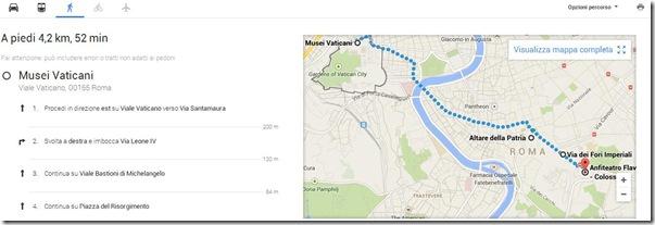 Nuovo Google Maps stampare itinerario