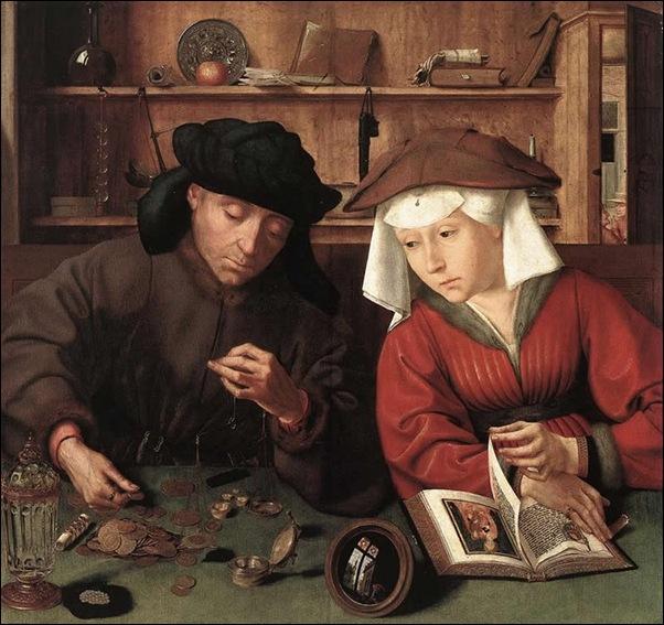 Metsys, Le changeur et sa femme