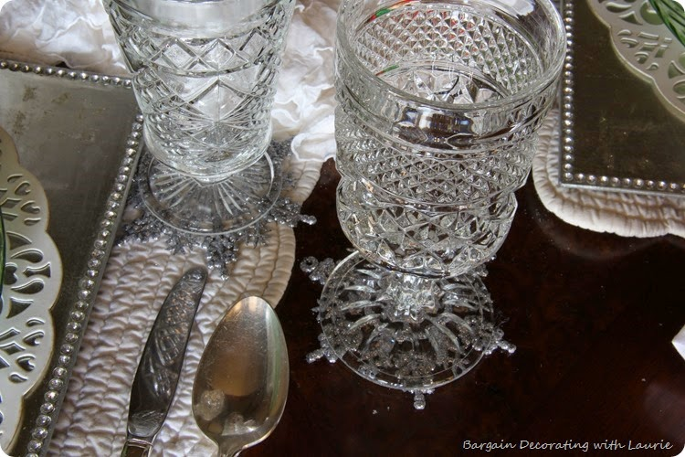 SNOWY TABLESCAPE 5