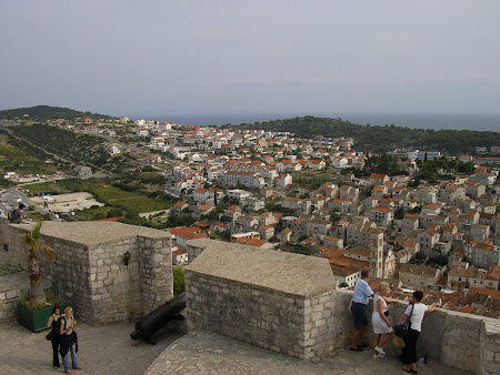 What to see in Croatia: Panorama from the fortress