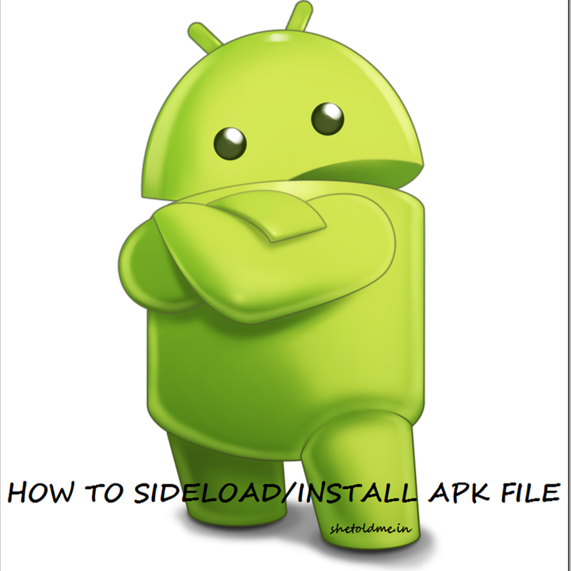 How To Install External Android APK File On Your Android Smartphone | Side Load