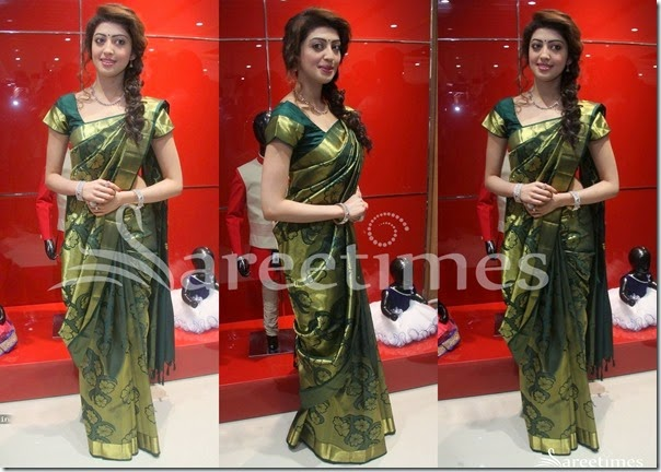 Praneetha_Green_Kanchi_Pattu_Saree