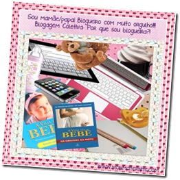 Selo Por que sou blogueria-