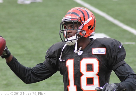 'WR AJ Green' photo (c) 2012, Navin75 - license: http://creativecommons.org/licenses/by-sa/2.0/