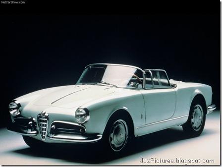Alfa Romeo Giulietta Spider 1