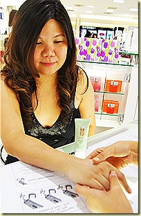 Clinique BB Cream test
