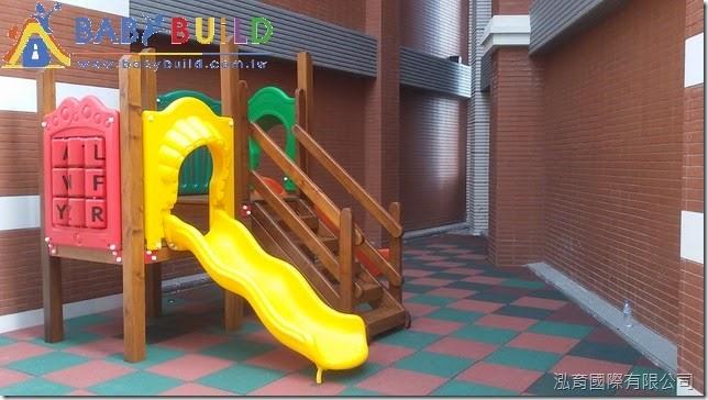 匯天地-木製兒童遊具完工