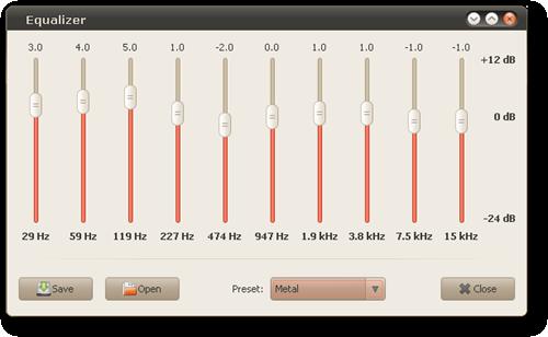 decibel_equalizer