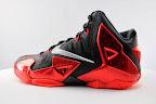 nike lebron 11 gr black red 5 05 New Photos // Nike LeBron XI Miami Heat (616175 001)