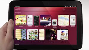 Ubuntu Touch nella versione Tablet