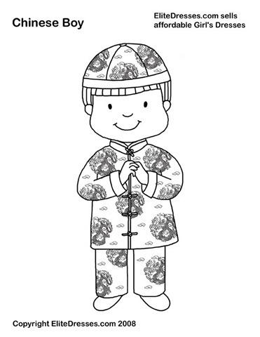 menino chinês