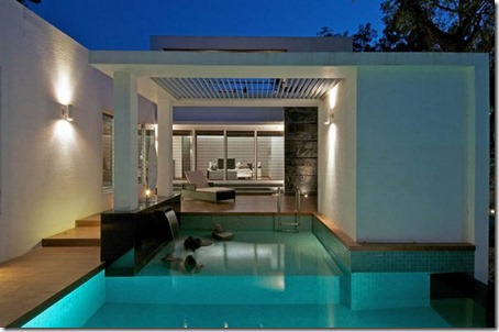Exterior Dinesh Bungalow by atelier dnD3