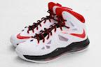 nike lebron 10 gr miami heat home 5 03 Release Reminder: Nike LeBron X MIAMI HEAT Home