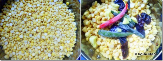 Masala Vada recipe ingredients