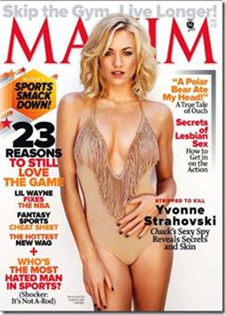 Maxim Outubro 2011